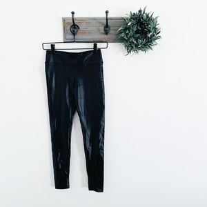 Koral Black Shiny Leggings M